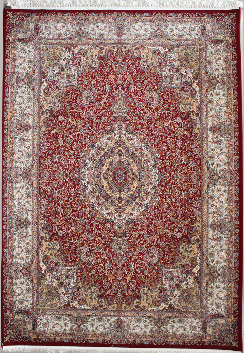 Abrishim 3814a red-cream
