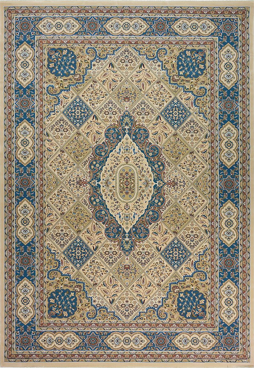 Royal Esfahan 2602A cream-blue
