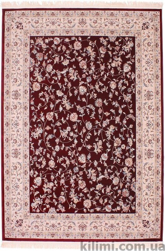 Esfehan 4904 d.red-ivory sale