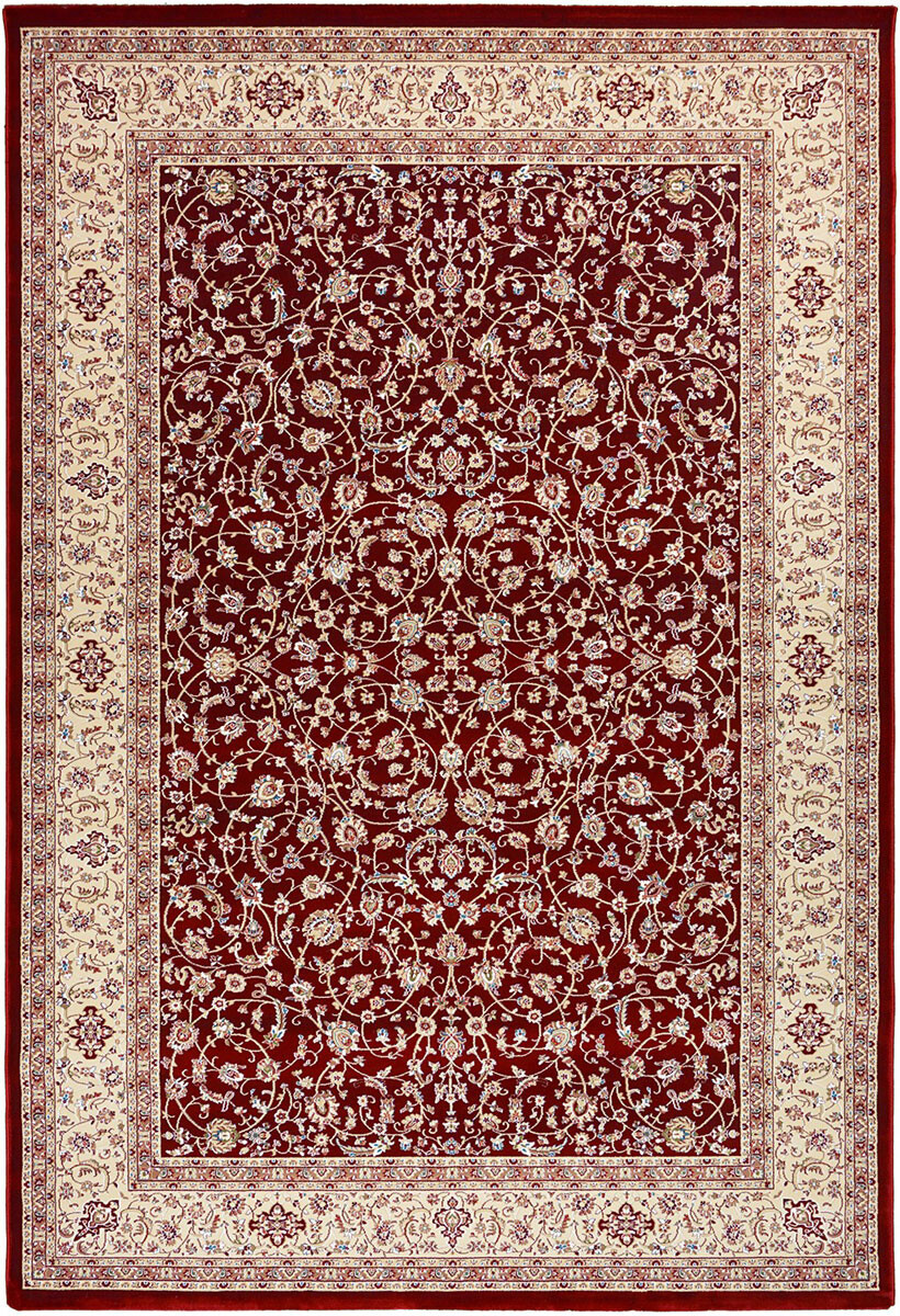 Royal Esfahan 3444a red-cream