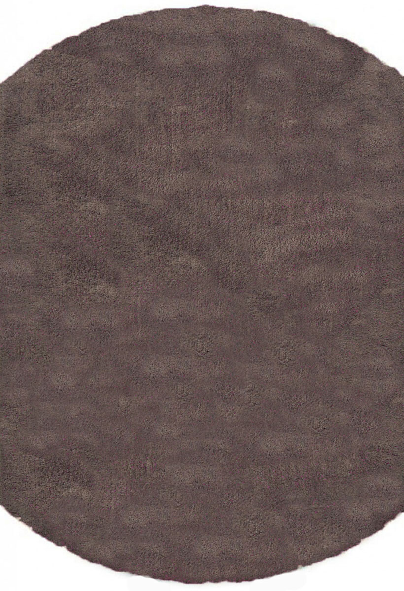 Silk Shaggy 6365c brown круг
